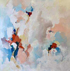 """97. Commission piece for a private residence (36"""" x 36"""")"""